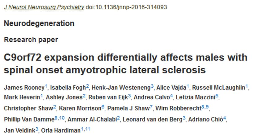 Journal of Neurol Neurosurg Psychiatry