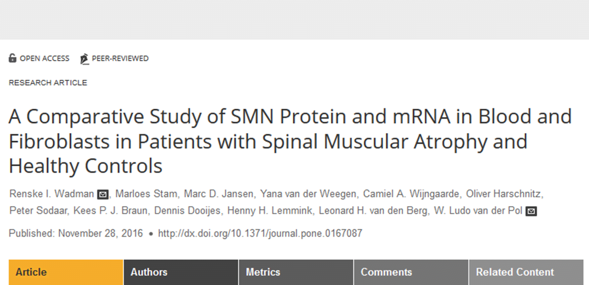spinal muscular atrophy research paper Spinal muscular atrophy on spinal muscular atrophy: awareness, knowledge, and attitudes don bailey of rti for his support and encouragement of this paper.
